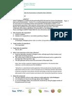 Orientation for Enumerators