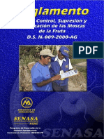 Manual Para El Control, Supresion, y Erradicacion de La Mosca de La Fruta