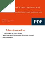 Antecedentes Modelo de Relaciones Laborales