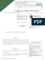 Aplicação Da Lei Penal No Tempo e No Espaço -