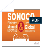 Rockwell Automation TechED 2017 - AP19 - Sonoco Eliminates Manual Reporting - Copia