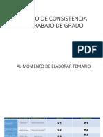 9 Modelo de Consistencia Del Trabajo de Grado