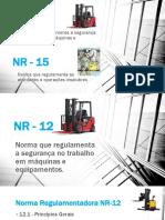 NR - 12 e 15
