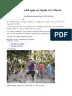 Las defensoras del agua en el país de la lluvia