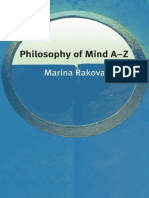 Rakova Philosophy of Mind a Z