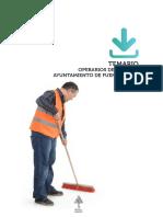 Muestra Temario Operarios Limpieza Ayto Fuenlabrada