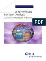 Biosciences - Techniques Immune Function Analysis Handbook 1st Edition