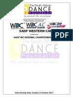 Sadf Wc Reginal Championships Entry Form 28oct2017