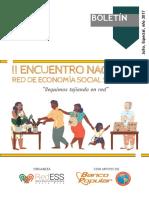 Boletín II Encuentro 2017