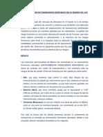 Proyección de Los Instrumentos Financieros Derivados en El Mundo de Los Negocios