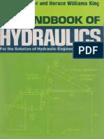 Handbook of Hydraulics Sixth Edition