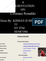 Cristino Ronaldo-Kishan