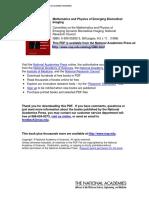 Mathematics & Physics of Emerging Biomedical Imaging