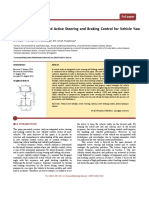 A Review on Integrated Active Steering and Braking Control for Vehicle Yaw Stability System