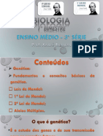 Biologia 3ª Série - 1º Bimestre
