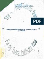 Guide Format Imatep