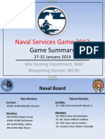 Naval Services Game 2013