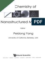 Peidong Yang Chemistry of Nanostructured Materials
