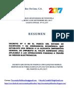 Decreto Reduccion Del Iva 2017-1