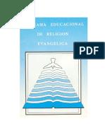 Programa de Religion Evangelica Ajus Curric 2009