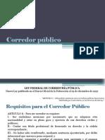 Notario Público y Corredor Público