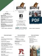 studio arts pathway brochure