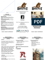 manufacturing operations pathway brochure