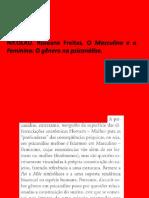 o Masculino e o Feminino - o Gênero Na Psicanálise