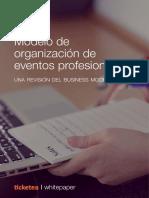 Modelo Para Organizar de Eventos Profesionales