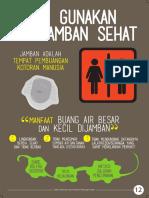 Flyer Jamban Sehat_15x21cm