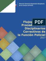 Flujograma Procedimientos Disciplinarios 2017 - LEFPol 2015