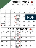 Something Rotten! Calendar
