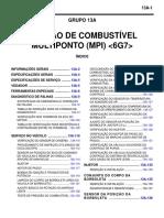 6g7 Padrao Onda Injeçao e Ociloscopio
