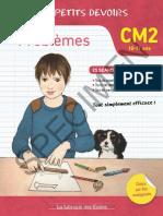 Tribouillard, Pierre - Les Petits Devoirs, Problèmes, CM2 (Librairie Des Écoles, 2016)