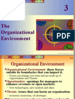 Chap03 the Organizational Environment