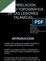 Correlacin Clnicotopogrfica de Las Lesiones Talmicas Copy1