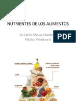 1 Nutrientes de Los Alimentos