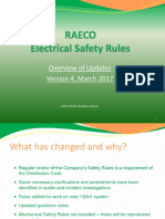 Safety Rules Revisions March 2017