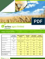 Aries Agro Ltd -- 16 August 2010