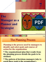 Chpt07 the Manager as a Planner and Strategist