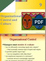Chpt09 (1) Organizational Control and Culture