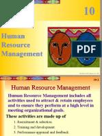 Chpt10 Human Resource Management