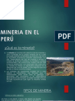 Mineria en El Perú