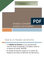 Modelo Conceptual Dominio