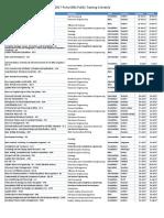 Petroskills Course Schedule 2017