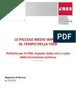 07_2011- Le piccole medie imprese al tempo della crisi.pdf