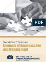 0-153 Elements of Business Laws and Management