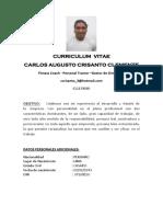 c.v Calos Cristanto