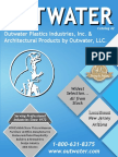 Outwater Plastics Industries & Architectural Products - 2013 Master Catalog