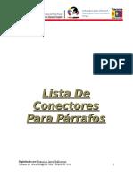 LISTA DE CONECTORES PARA PÁRRAFOS.doc